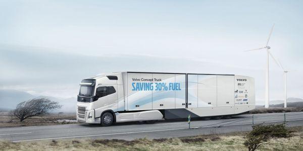 Volvo Konsept Kamyonu'nun Lastiklerini Continental Tedarik Ediyor