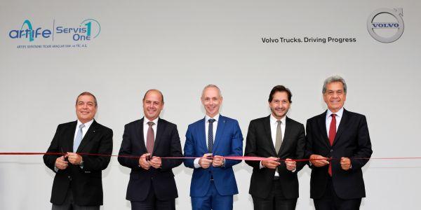 Volvo Trucks Anadolu Yakası Servisi açıldı