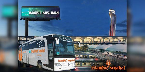 Yeni Havalimanı'ndan otobüs seferleri başladı
