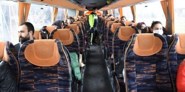 HES kodu alınarak otobüsle seyahat edilebilecek