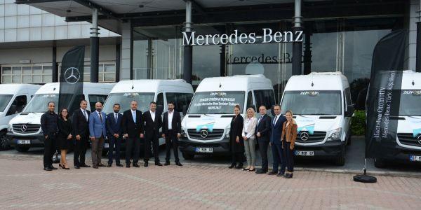 Zemzem Turizm 30 Mercedes Sprinter aldı