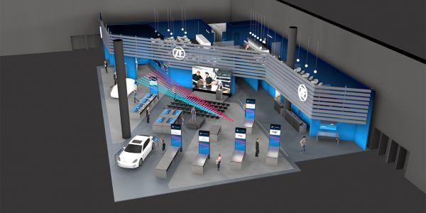 ZF Bilgi-Eğlence Sistemi AUTOMECHANIKA 2018 Fuarında