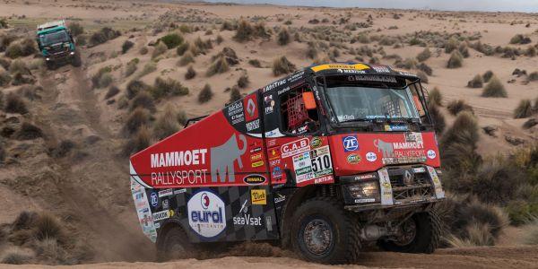ZF Teknolojisi Dakar Ralisi'nin Şampiyonlar Podyumunda