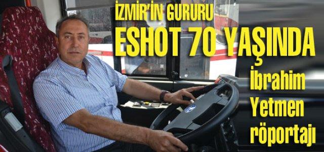 İzmir'in gururu ESHOT 70 yaşında